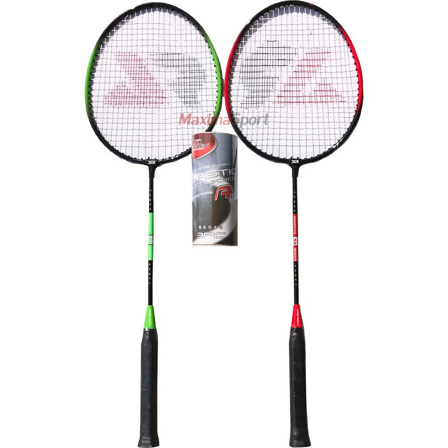 Badminton set 2 racket in bag