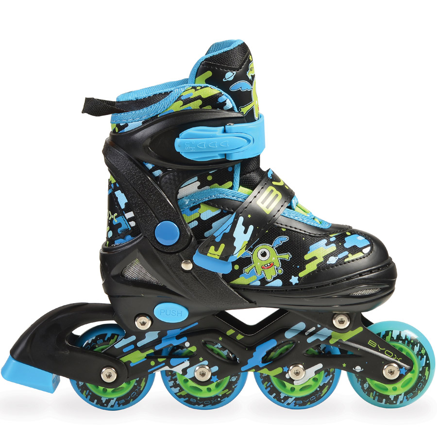 Rollers and Roller Skates Zax 2 in 1 adjustable