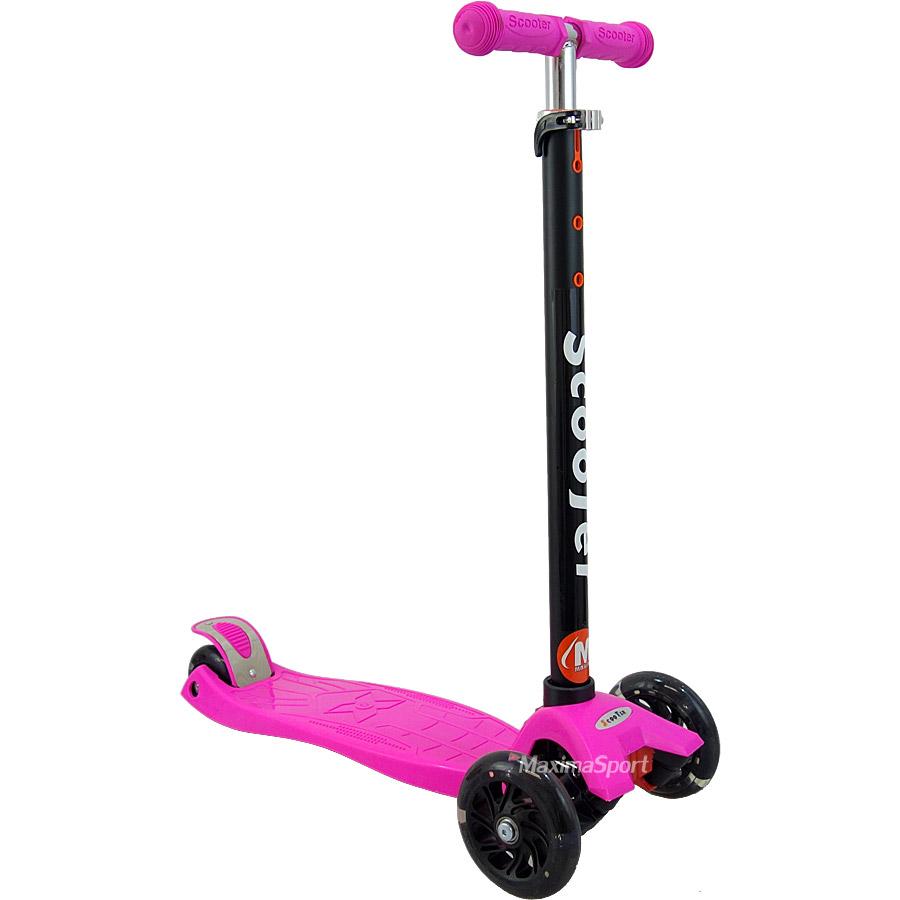 1dc706474f0 Тротинетка ScooTer с 4 светещи колела   Тротинетки скутери за деца ...