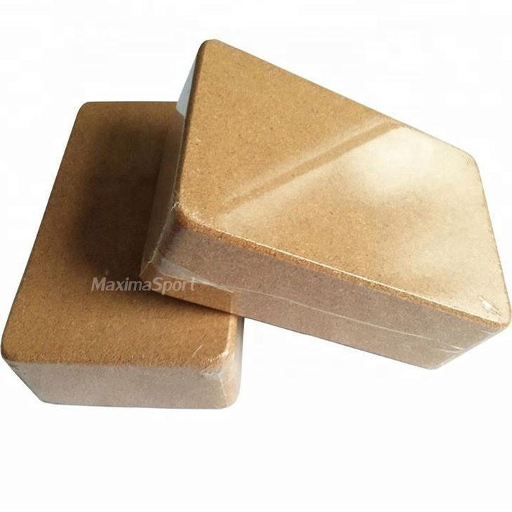 Yoga block cork