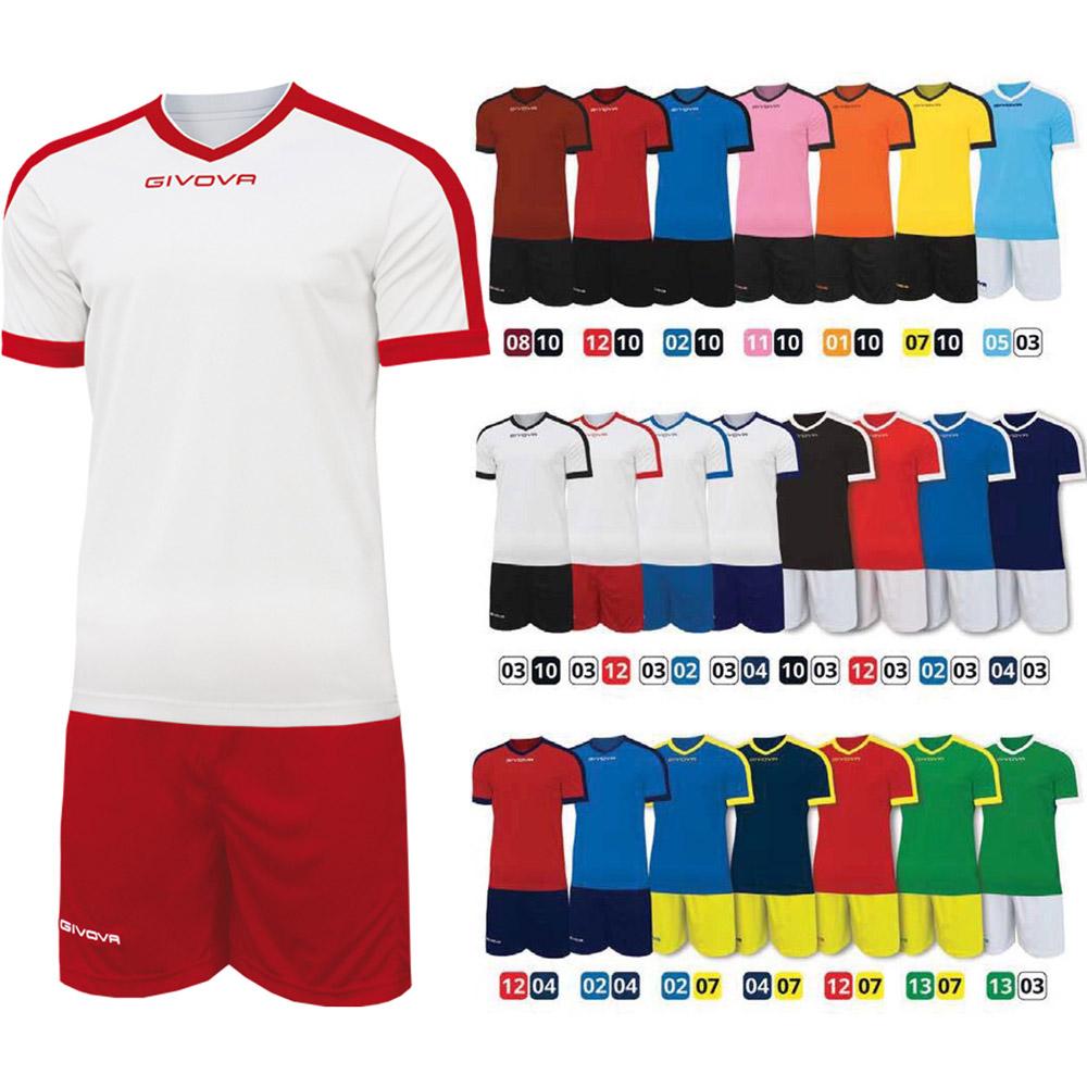 27874801aa6 Детски Футболен Екип GIVOVA Kit Revolution | Футболни екипи за деца ...