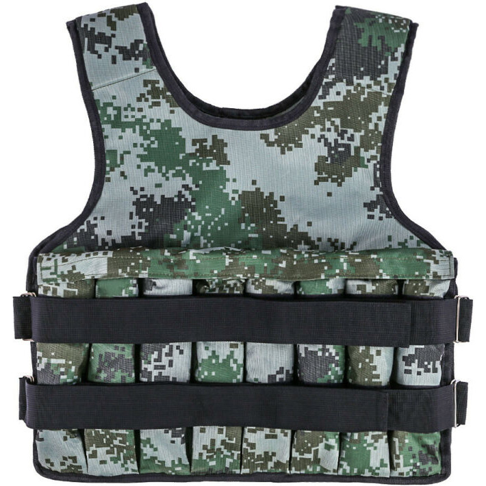 Training Weight Vest from 1 to 25 kg.