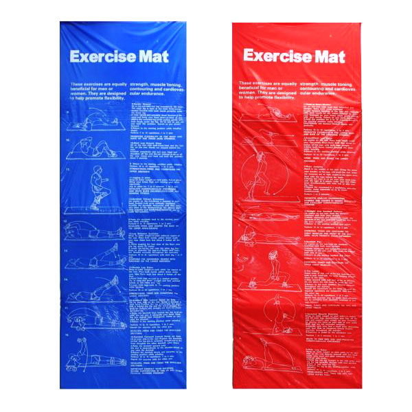 Exercise mat 180х60x0.8 cm.