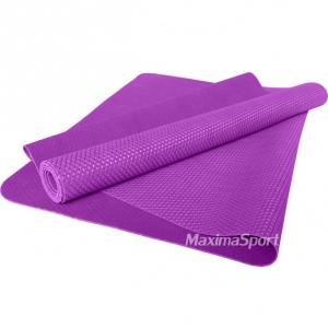 Yoga mat professional natural rubber 183x61x0.15 cm.