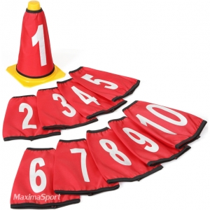 Numbers for Cones 10 pcs.