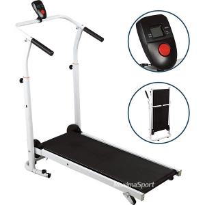 Folding Manual Running Treadmill