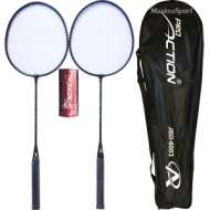 Set badminton geanta inclusa si 3 fluturasi