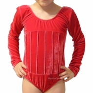 Gymnastic suit with long sleeve for kids