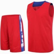 Echipament de baschet rosu si albastru pentru copii