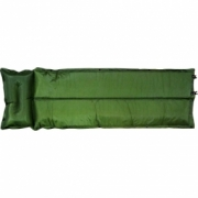 Auto inflatable mat with pillow
