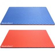 EVA MAT 100x100x4 cm. 2 layer blue/red color