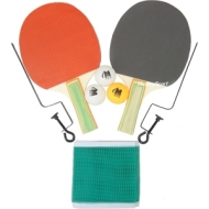 Palete de tenis 2 buc + 3 mingi + fileu