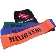 Elastic bands round textiles 3 pcs