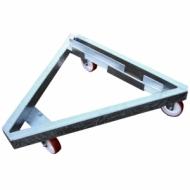 Transport platform for substitutes bench