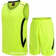 Basketball kit green and black