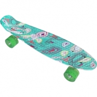Skateboard plastic (penny board) 22″ (56 cm.) with color print