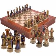 Luxury chess Crusaders 37 cm.