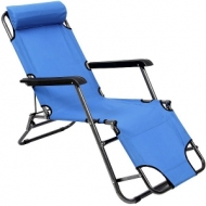 Foldable chair (chaise-longue)