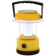 Camping light with 2 solar battery