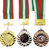 Medal 6.5 cm. with ribbon