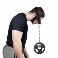 Neck muscle training device