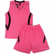 Basketball kit pink and black