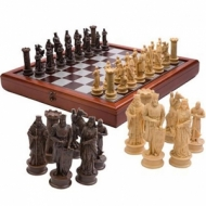 Luxury chess Crusaders 50 cm.