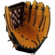 Baseball glove 31.8 cm. leather