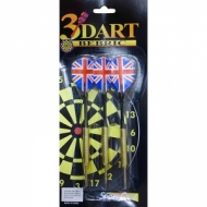 Arrow dart 3pcs/blister pack