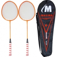 Badminton MAXIMA set 2 racket in bag