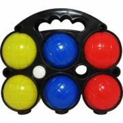 Petanque balls 6 psc. PVC