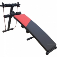 Sit up Bench Ab Crunch Board with Dumbbells