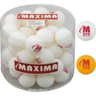 Table tennis balls Maxima 50 pcs.