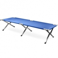 Foldable bed for camping - 100% aluminium
