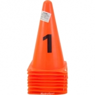 Marker Cones with number 22 cm.
