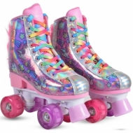 Roller Skates Unicorn wheels with LED 31-34