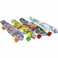 Skateboardul ABS (penny board pennyboard) 22″ (56 cm.) cu imprimare color
