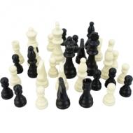 Figures Chess large plastic 3.4 - 9 cm.