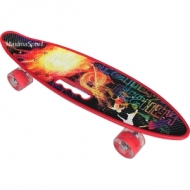 Skateboard  (penny board) 22″ (56 cm.) with wheels with LED