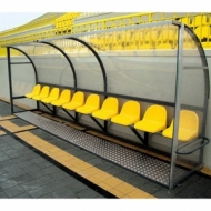 Substitutes bench