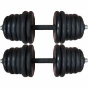 Dumbbells 2x15 kg. (composite)