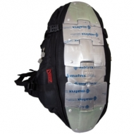 Backpack w/th metal back protector
