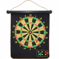 Magnetic dart game in tube 18″