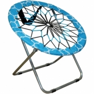Flexible Bungee Folding Chair for Camping