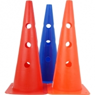 Marker Cone with holes 45 cm.