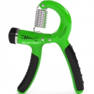 Hand grip with regulation from 10 to 40 kg.