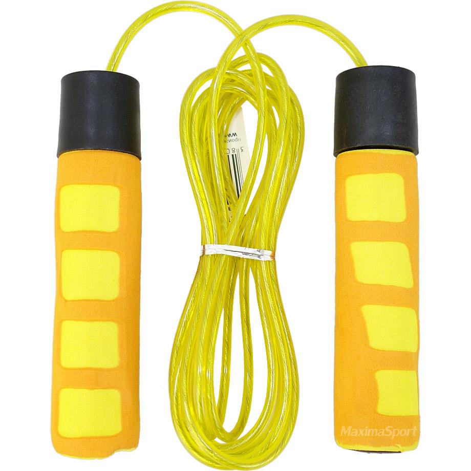 9ab00f9772a Въже за скачане с дължина 2.8 м., с тежести в дръжките | Въжета за ...