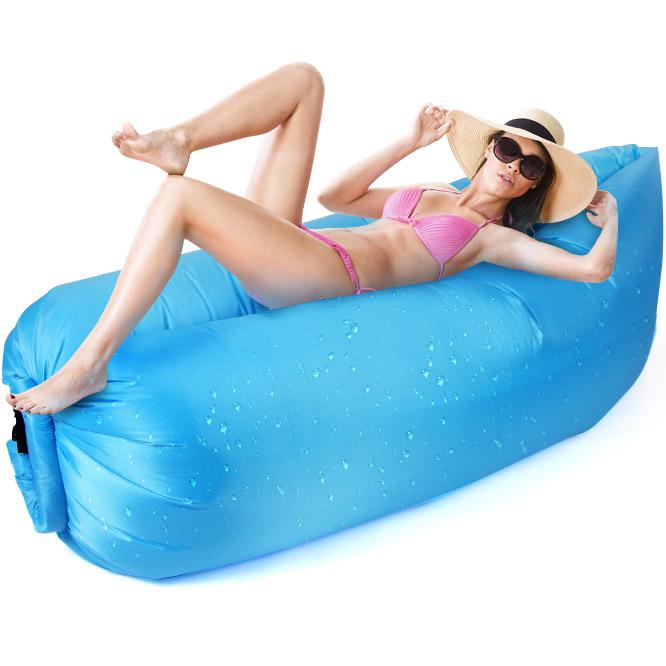 Inflatable Lounger Air Bed 260х55 cm.