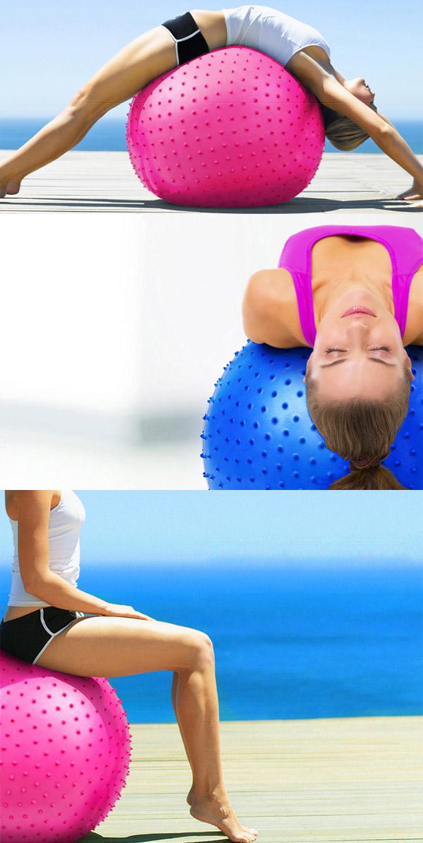 Гимнастическа топка (масажна)
