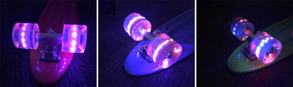 светещи колела